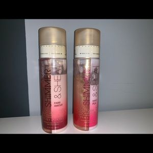 Sheer and shine body lotion